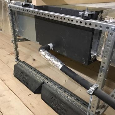 Опорно-крепежные системы BIG FOOT на объекте