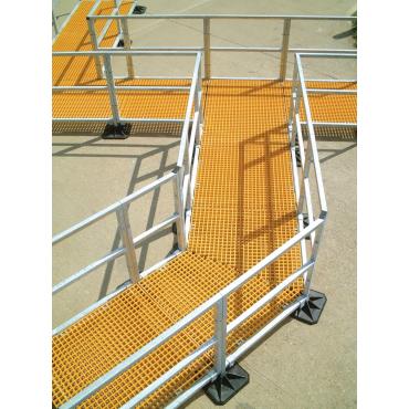 Конструкции для безопасного перемещения по крыше по индивидуальному заказу марки Big Foot